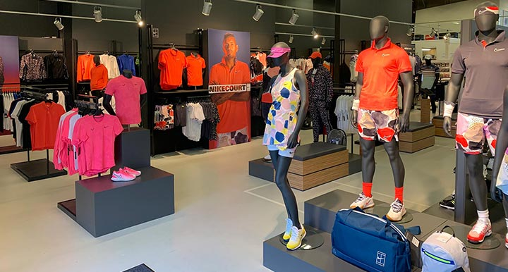 Visit the largest tennis retail store in Europe